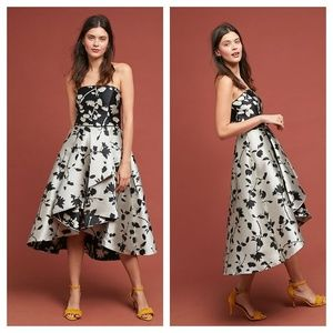 Anthropologie Shoshanna Floral Ball Gown 4 6
